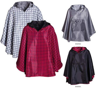 Evergreen Reversible Rain Ponchos