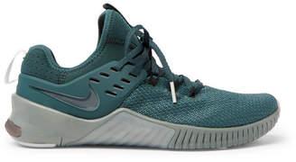 Nike Training Metcon Free Mesh And Neoprene Sneakers