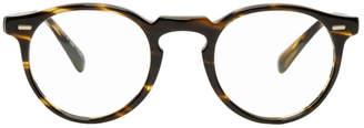 Oliver Peoples Tortoiseshell Gregory Peck Glasses