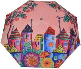 Anuschka Printed Foldable and Compact Umbrella
