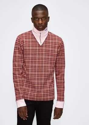 Calvin Klein Zip Neck Pullover