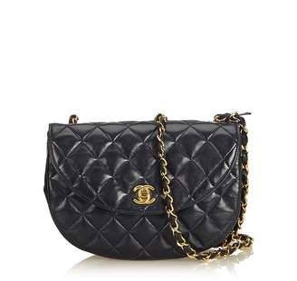 Chanel Vintage Matelasse Lambskin Leather Chain Bag
