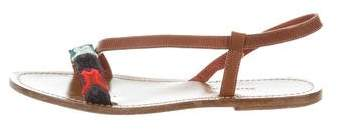 Missoni Woven Slingback Sandals