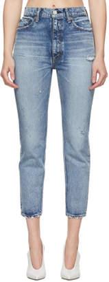 Moussy Vintage Blue Everett Skinny Boy Jeans