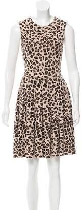 Christian Dior Sleeveless Patterned Dress