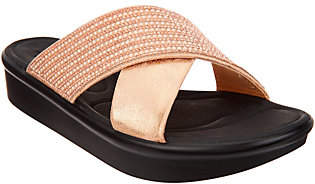 Skechers Cross-Band Platform Sandals - SummerScorcher