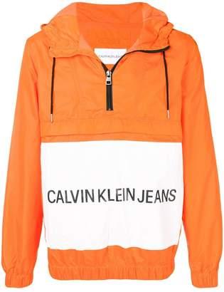 CK Calvin Klein half zip windbreaker
