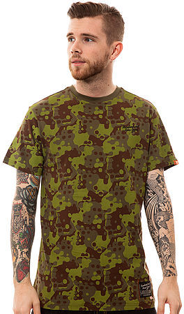 Camo Standard and Grind The Splatter Allover Tee