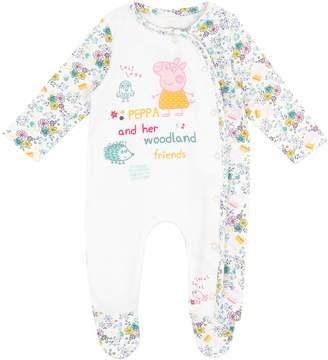 Peppa Pig Baby Girls' Footies Size 0-3M