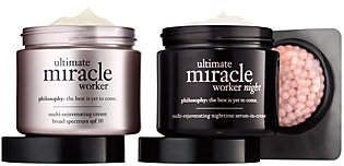 philosophy Ultimate Miracle Worker Am/Pmmoisturizer Set