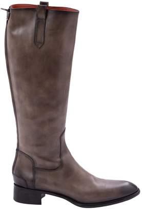 Santoni Leather riding boots