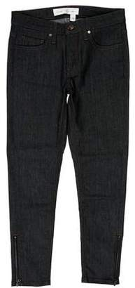 Victoria Beckham Mid-Rise Skinny Jeans