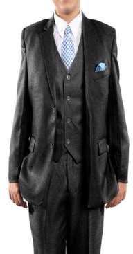Tazio Classic Fit 2 Button Boys Suit, 5 Pc
