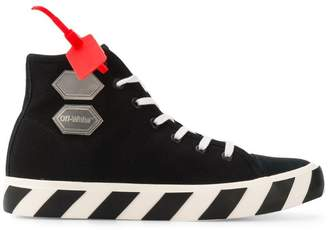 Off-White hi-top sneakers