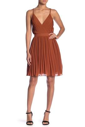 Endless Rose Pleated Mini Dress