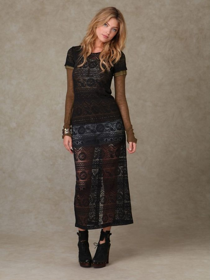 Fields of Lace Dress