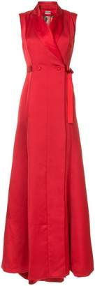 Alexis Mabille waist-tied maxi dress