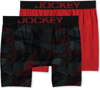 Jockey Men's 2-Pk. RapidCool Boxer Briefs