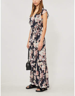 Paige Maquel floral-print silk-crepe maxi dress
