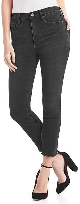 GapSuper high rise true skinny crop jeans