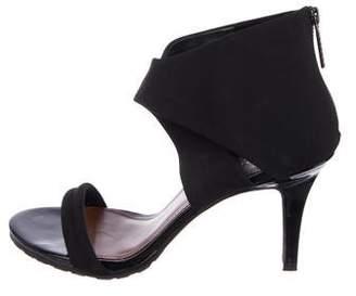 Donald J Pliner Woven Crossover Sandals