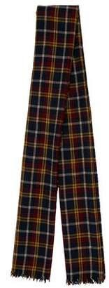 Etoile Isabel Marant Plaid Wool Scarf