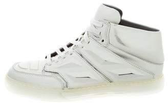 Alejandro Ingelmo Exotron Leather Sneakers
