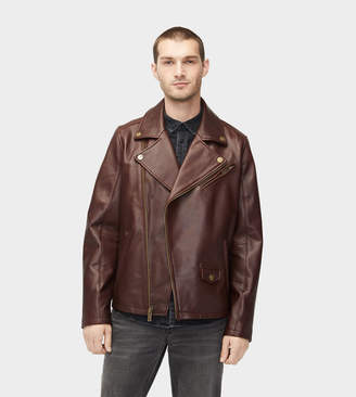 parajumpers ernie leather jacket