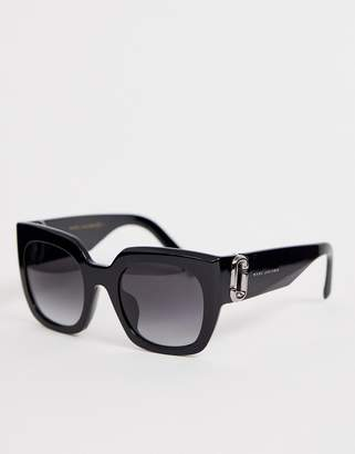 Marc Jacobs chunky square frame sunglasses