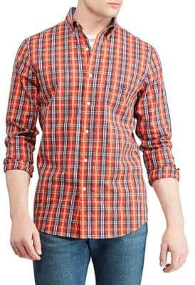 Chaps Big Tall Easy Care Stretch Long-Sleeve Shirt