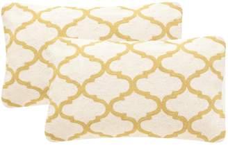 Safavieh 2-piece Rhea Rectangular Throw Pillow Set