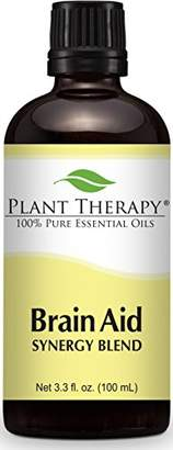 Blend of America Plant Therapy Brain Aid Synergy (for mental focus and clarity) Essential Oil 100% Pure