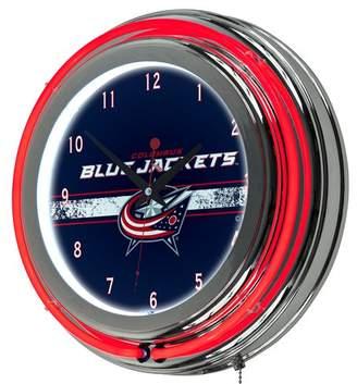 "DAY Birger et Mikkelsen Trademark Global NHL Neon 14.5"" Wall Clock NHL Team: Columbus Blue Jackets"