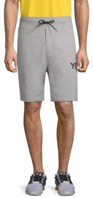 Y-3 Cotton Jogger Shorts