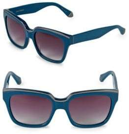 Zac Posen Nico 56MM Square Sunglasses