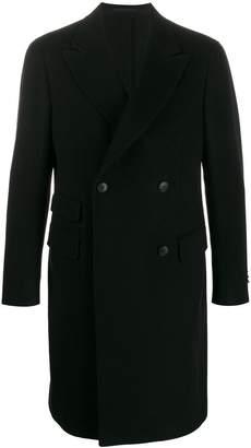 Ermenegildo Zegna textured double-breasted coat