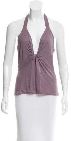 VersaceVersace Knit Halter Top