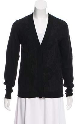 Zhor & Nema Long Sleeve Knit Cardigan
