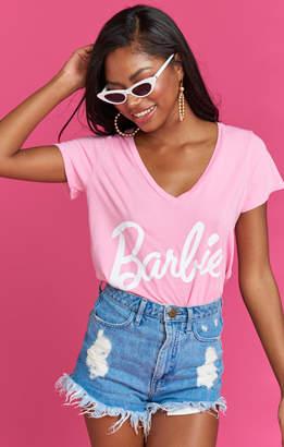 Show Me Your Mumu Grant V Neck Tee ~ Barbie Graphic