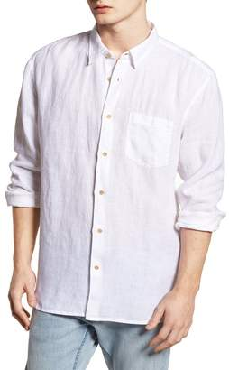 French Connection LINEN CHAMBRAY RELAXED FIT SPORTSHIRT