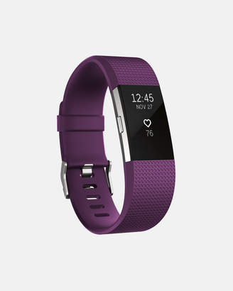 Fitbit Charge 2 Plum Silver