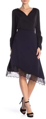 S.H.E. Lace Trimmed Slip Skirt