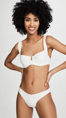 L-Space Camellia Bikini Top