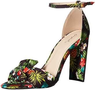 Qupid Women's Single Sold Sandal Heeled