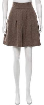 Rag & Bone Wool Mini Skirt