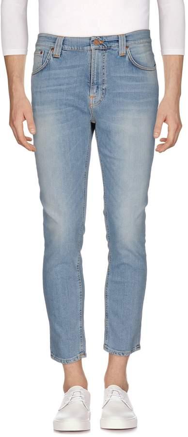 Nudie Jeans Denim pants - Item 42570629
