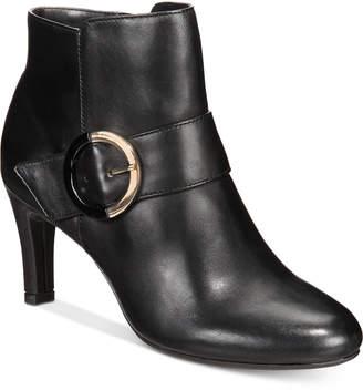 Bandolino Lanaro Zip Ankle Booties Women's Shoes