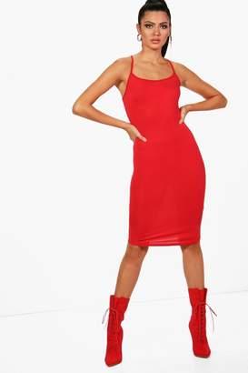 boohoo Tall Cami Bodycon Dress