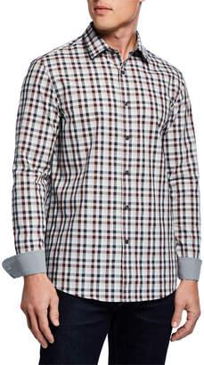 Michael Kors Men's Ryder Check Sport Shirt