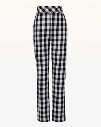 Juicy Couture Gingham Stretch Twill Pant